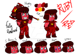 Red/Ruby reference sheet by BDCUltimateCrossover