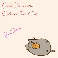 Pack De iconos - Pusheen cat by clara45910