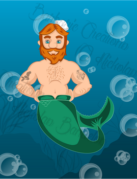 Ginger Merman by BarbaricCreations