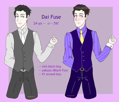Dai Fuse Reference by theaschebloodprince