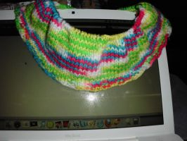 Rainbow Brights cowl - WIP by Ryuus-Wardrobe