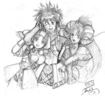 Grandia 2 by shinbios