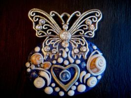 Butterfly Pendant by RoyalKitness