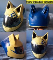 Celty Helmet :: DRRR by shiroiyukiko
