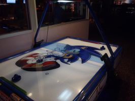 Sonic air hockey by Endeavor4ever