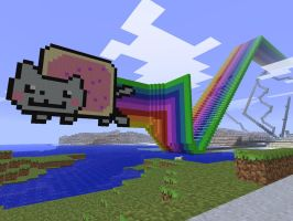 Nyan Cat by strawberryminecraft