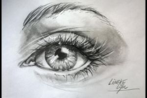 Free download for: how to draw an eye by Linekelijn