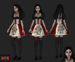 AliceCardDress, wip1 by tombraider4ever