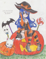 HALLOWEEN WITCH WENDY by Juviaaa