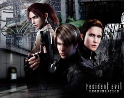 Resident Evil Degeneration Art by caroltod