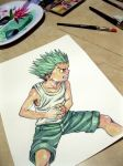 Gon in progress by Trunnec