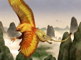 Zuberi, Goldenfeather by putridCheese