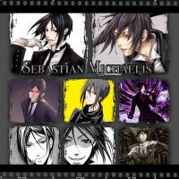 Sebastian Michaelis collage by Xendrak18