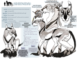 Fursona character sheet :updated: by Shendificator