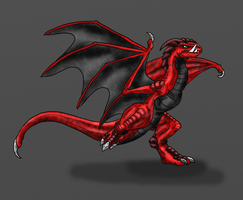 Verden-Tusked Wyvern by Scatha-the-Worm