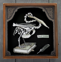 Pelican Skeleton: Cabinet of Curiosities by WonderDookie