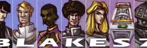 Blakes 7 - season 4 by Equattro