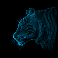 Le Tiger by Sontine