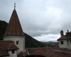 view from Bran castle by rocz91