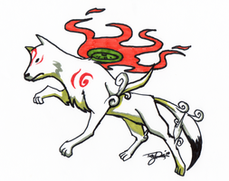 CS:Bix:Okami by TLEEART