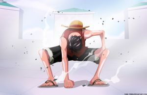 Mugiwara no Luffy : Gia sekando by dark-terra
