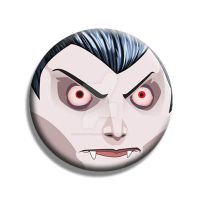 Count Dracula Button by Mutant-Cactus