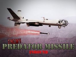 Enemy Predator Missile Inbound by adrak