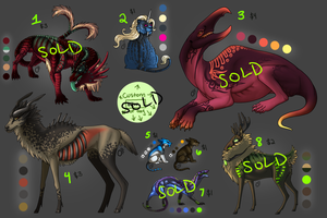 Adoptable Batch.1 - All Sold by Onyxwings