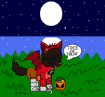 catofox's halloween request. by pokemonlpsfan