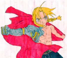 Edward Elric fanart :3 by GrayAoi