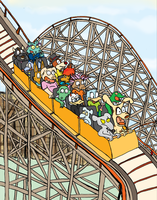 Roller Coaster by Scurrow