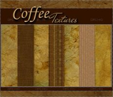 CoFFee TextUreS 1 by 0orchid
