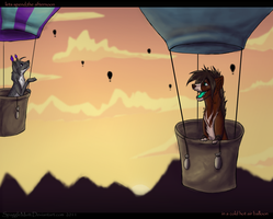 Hotair balloon -speed paint- by Spaggled