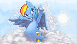 RainbowDash Returns by Usappy-BarkHaward