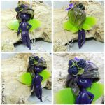 Blackberry Fairy necklace Commission by oOMetalbrideOo