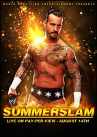 WWE Summerslam 2011 Poster 2 by SaintMichael
