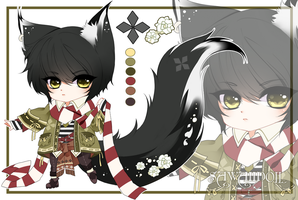 [CLOSED] Adoptable AUCTION - PuffyPouri Species 11 by SawaiiDoll
