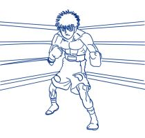 iPPo chapter:935 p.9 line_art. by Riekichi