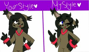 Your style/My style by Agentauto45
