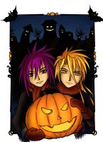Dark and Krad - Halloween by Shira-a
