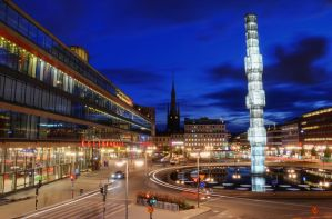 The Glass Obelisk III by HenrikSundholm