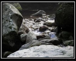 Water Flows Over Rocks by seiyalover