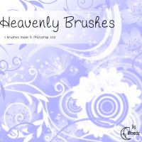 Heavenly Flowers Brushes by Coby17