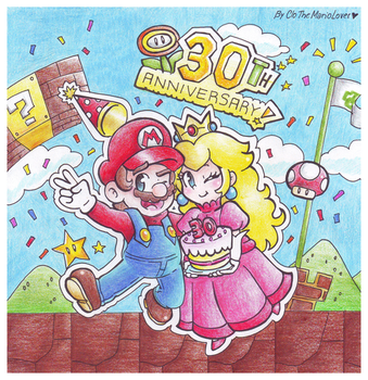 .:Happy 30th Anniversary!:. by ThePinkMarioPrincess