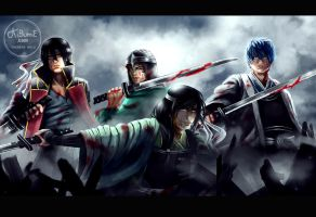 Gintama - Old Jouishishi by theresamelo