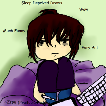 Sleep Deprived Draws (logo) by ZephyrPunk