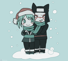 Bby it's cold outside by Phoelion