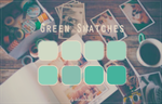 Green Swatches by tutorialeslali
