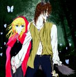 Hold My Hand (The Wolf who love Red Riding Hood ) by 000SkyArrow000