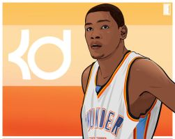 Kevin Durant by michael0118
